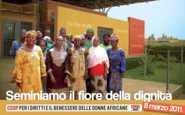 8 marzo 2011: Coop Adriatica per le donne burkinabè