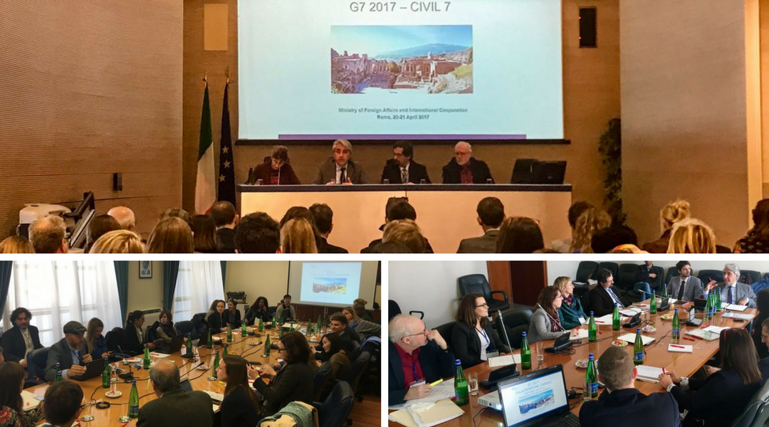 La società civile internazionale incontra il Governo italiano e chiede impegni concreti al G7