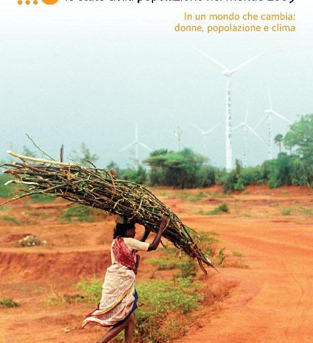 Il clima al centro del Rapporto UNFPA 2009