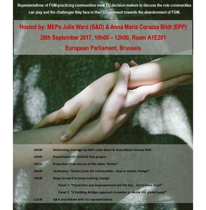 Mutilazioni genitali femminili: al Parlamento Europeo un incontro con le comunità della diaspora in Europa