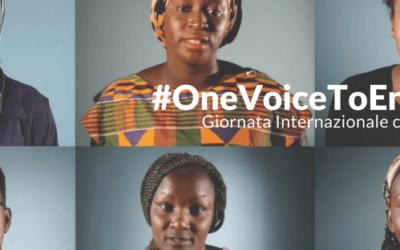 """""""One voice"""" dall'Africa all'Europa: una sola voce per fermare le Mutilazioni Genitali Femminili"""