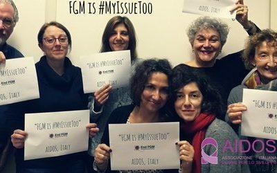 """""""FGM is #MyIssueToo"""": la  Campagna 2018 della Rete Europea End FGM per porre fine alle MGF."""
