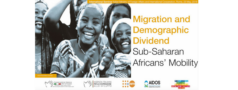 "23 maggio: Seminario Internazionale ""Migration and Demographic Dividend: Sub-Saharan Africans' mobility"""