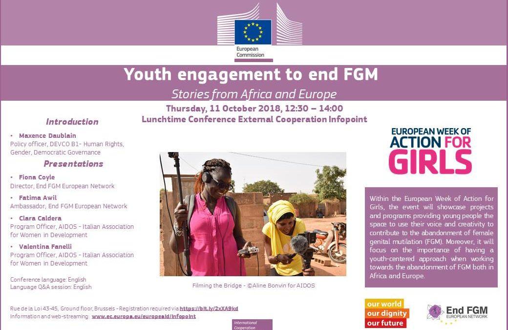 AIDOS presenta il proprio lavoro per il contrasto alle MGF