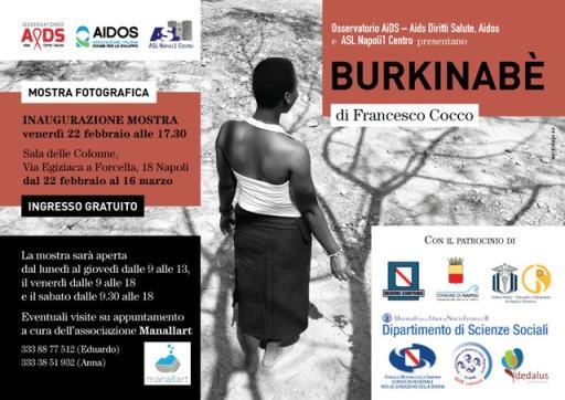 Mostra BURKINABÈ e lancio Rapporto UNFPA 2018 a Napoli