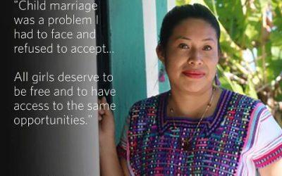 San Valentino: Diciamo NO  ai matrimoni forzati e/o precoci.
